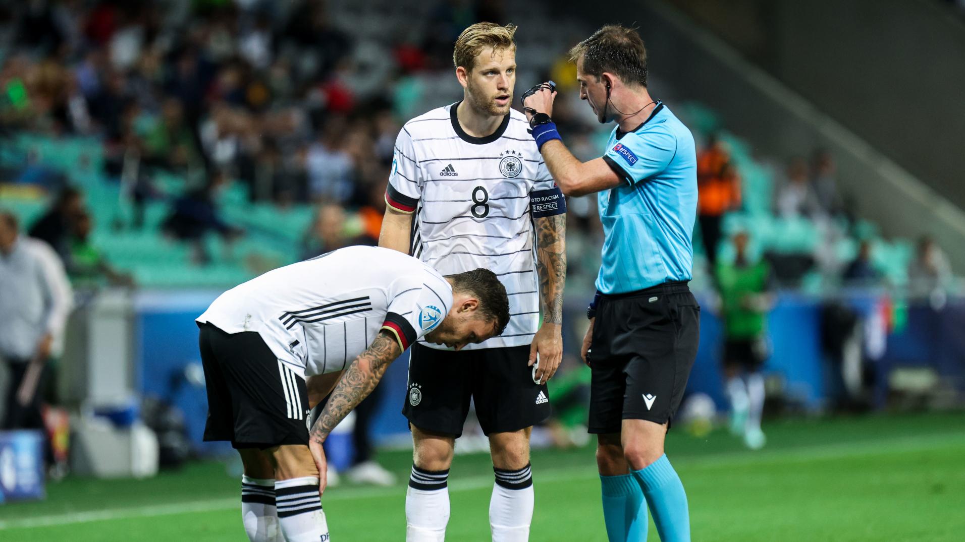 ONLY GER EURO U21 Deutschland vs. Portugal Arne Maier Nationalmannschaft 06062021