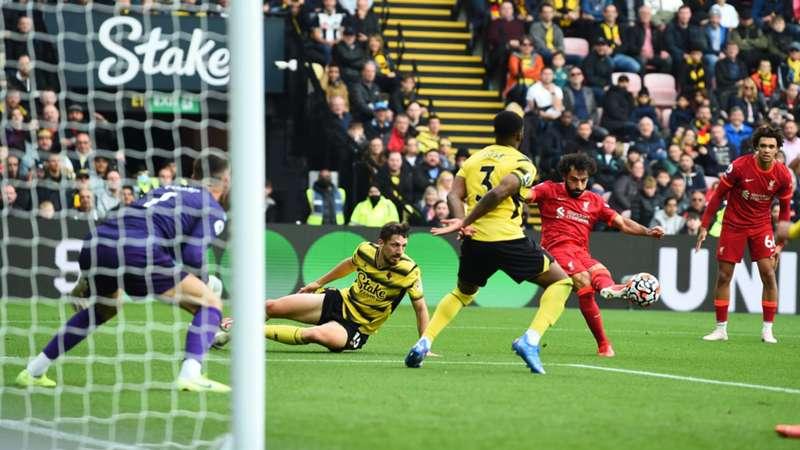 Mo Salah,Watford vs Liverpool, 16 octubre 2021, Premier League 2021/2022