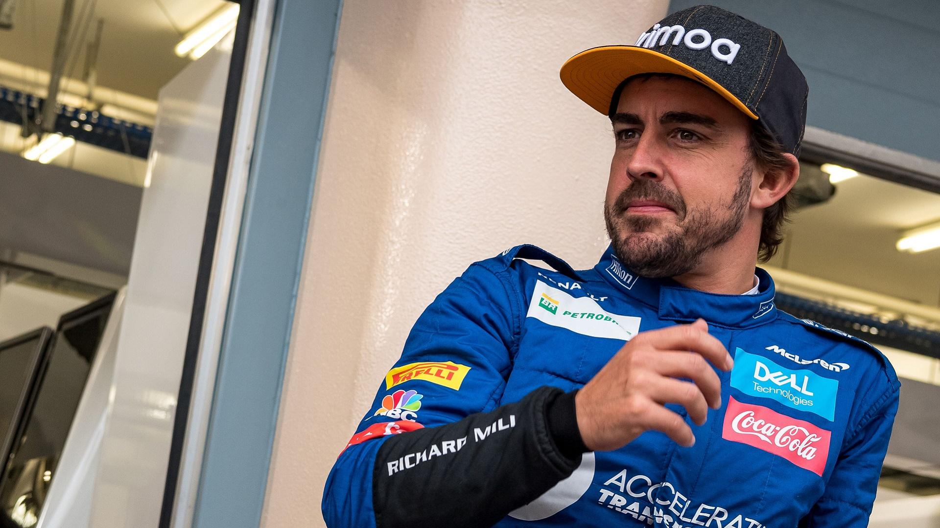 2020-07-08 Formula 1 F1 Fernando Alonso