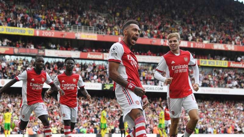 Aubameyang Arsenal Premier League