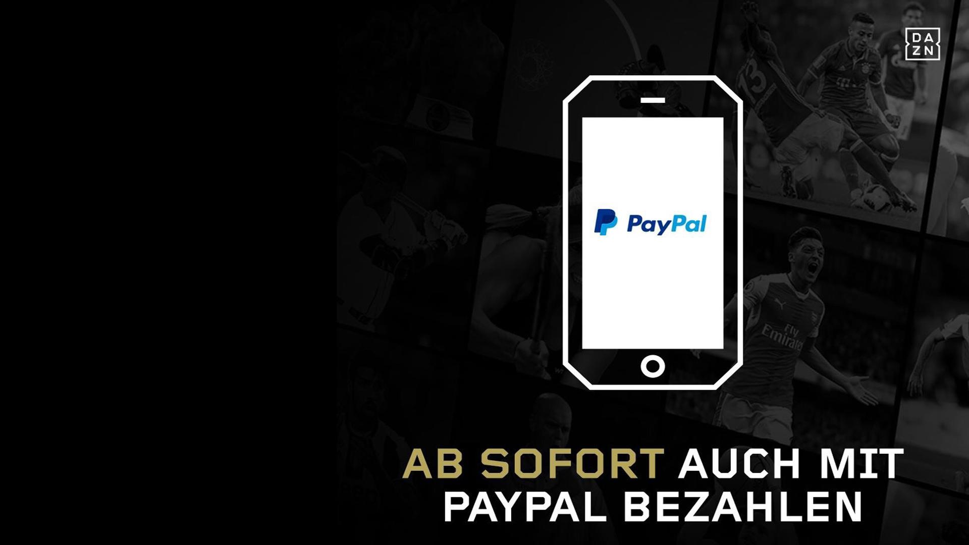 DAZN PayPal
