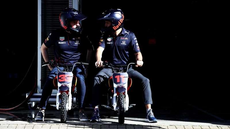 2021-04-11 Verstappen Perez Red Bull Formula 1 F1