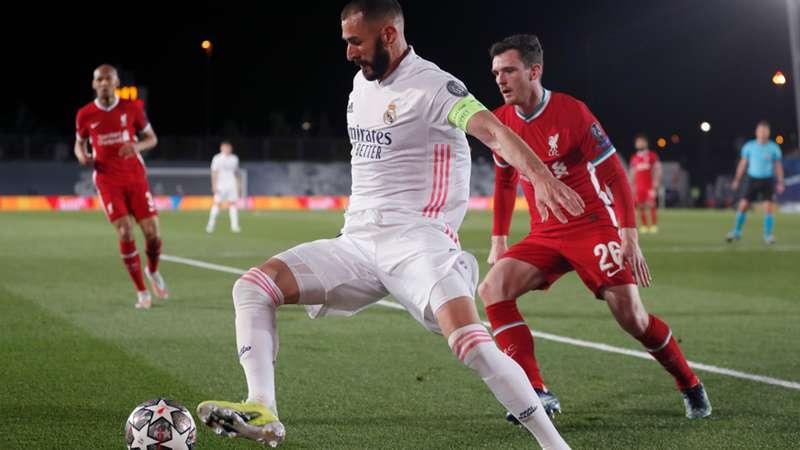 Karim Benzema Liverpool 2021