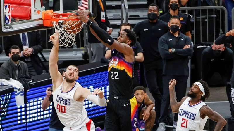 Phoenix Suns Ayton LA Clippers NBA Playoffs TV LIVE-STREAM