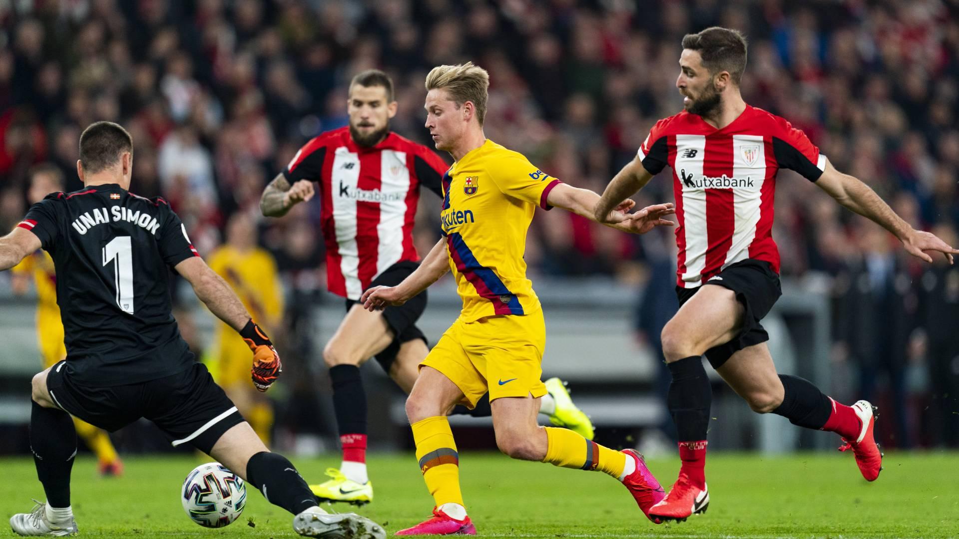 Bilbao Barcelona Hinspiel Saison 2019 2020