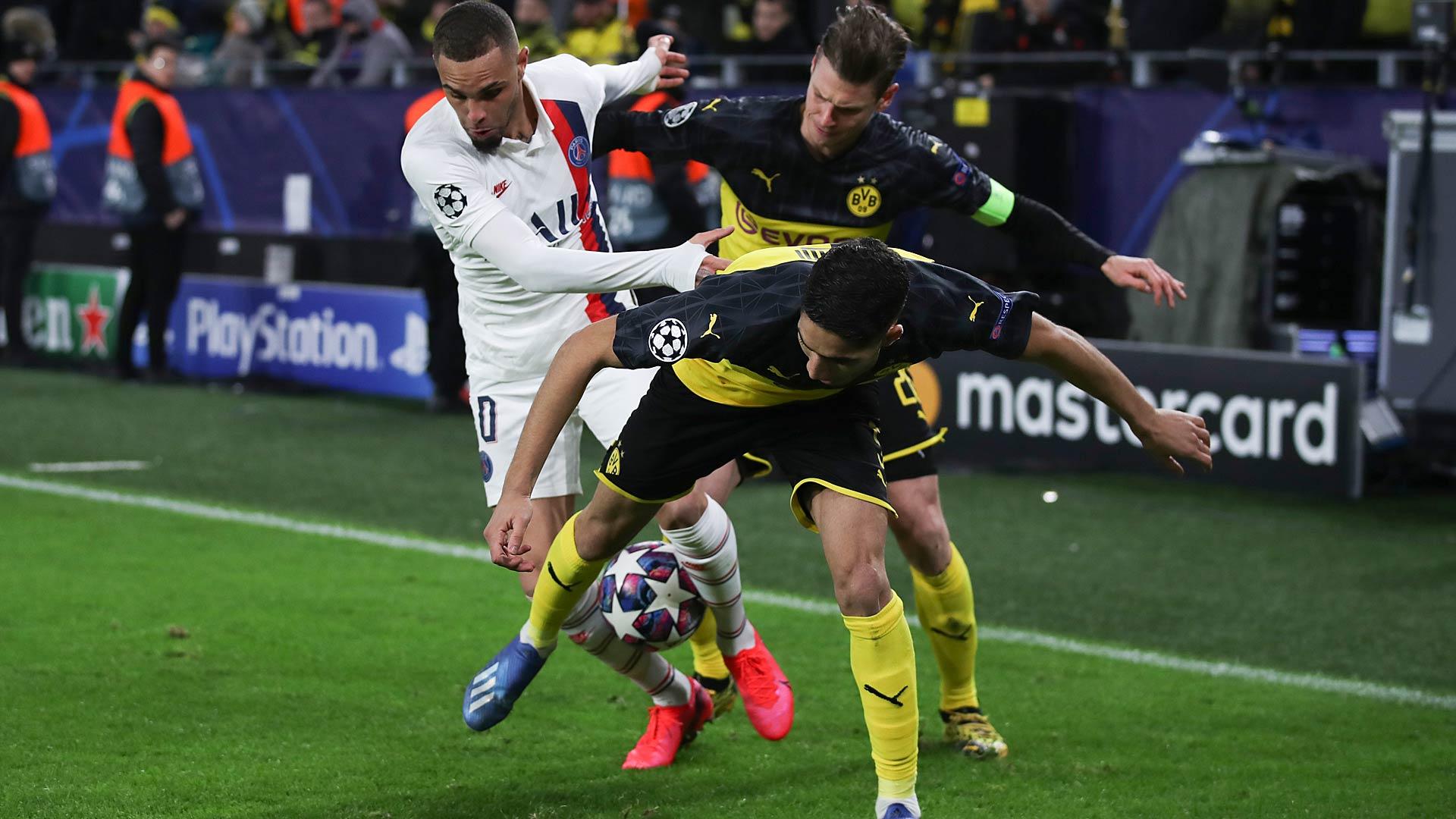 Borussia Dortmund, PSG, Champions League, DAZN