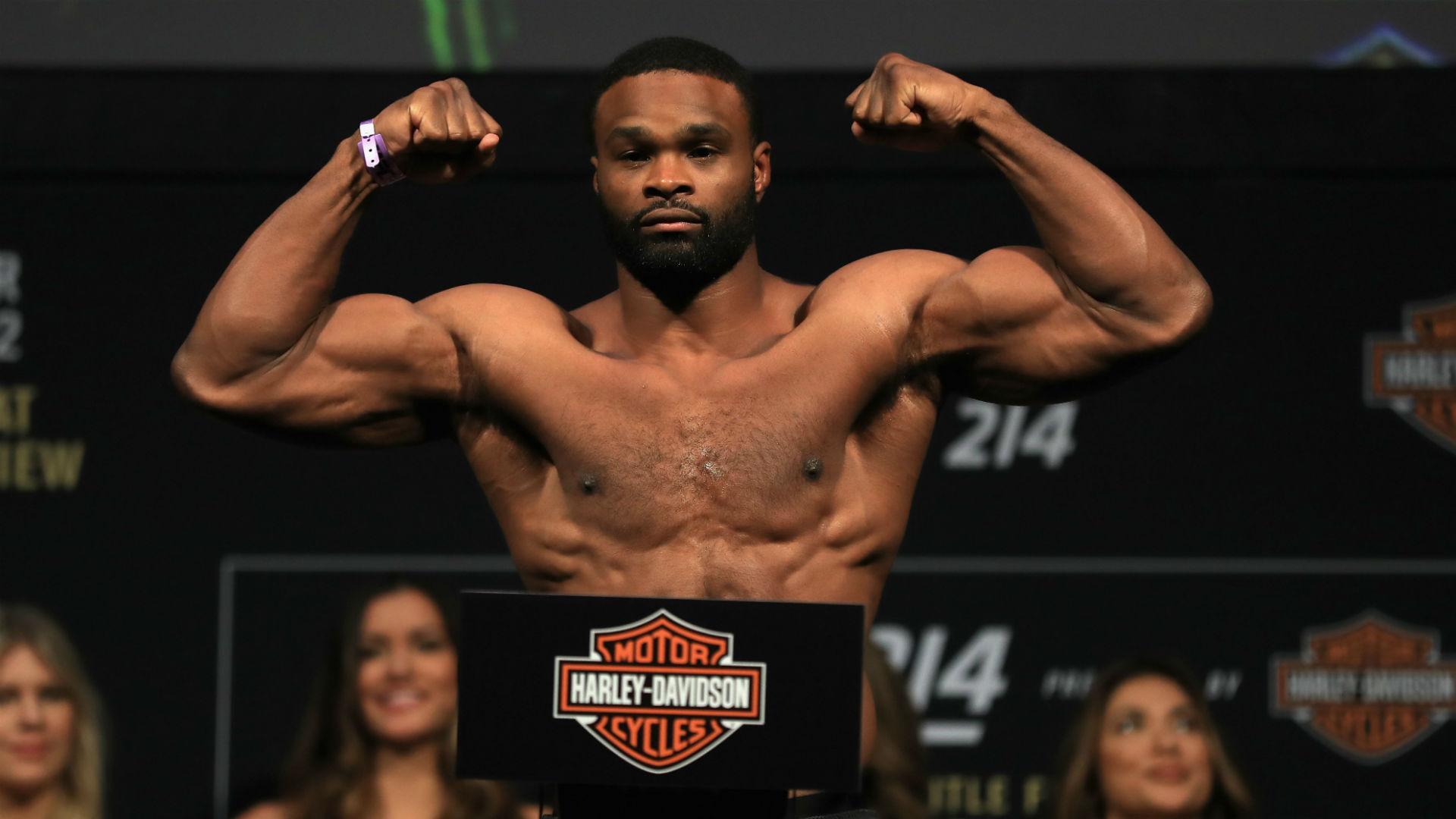 UFC Fight Night: Tyron Woodley vs. Gilbert Burns time, TV channel ...