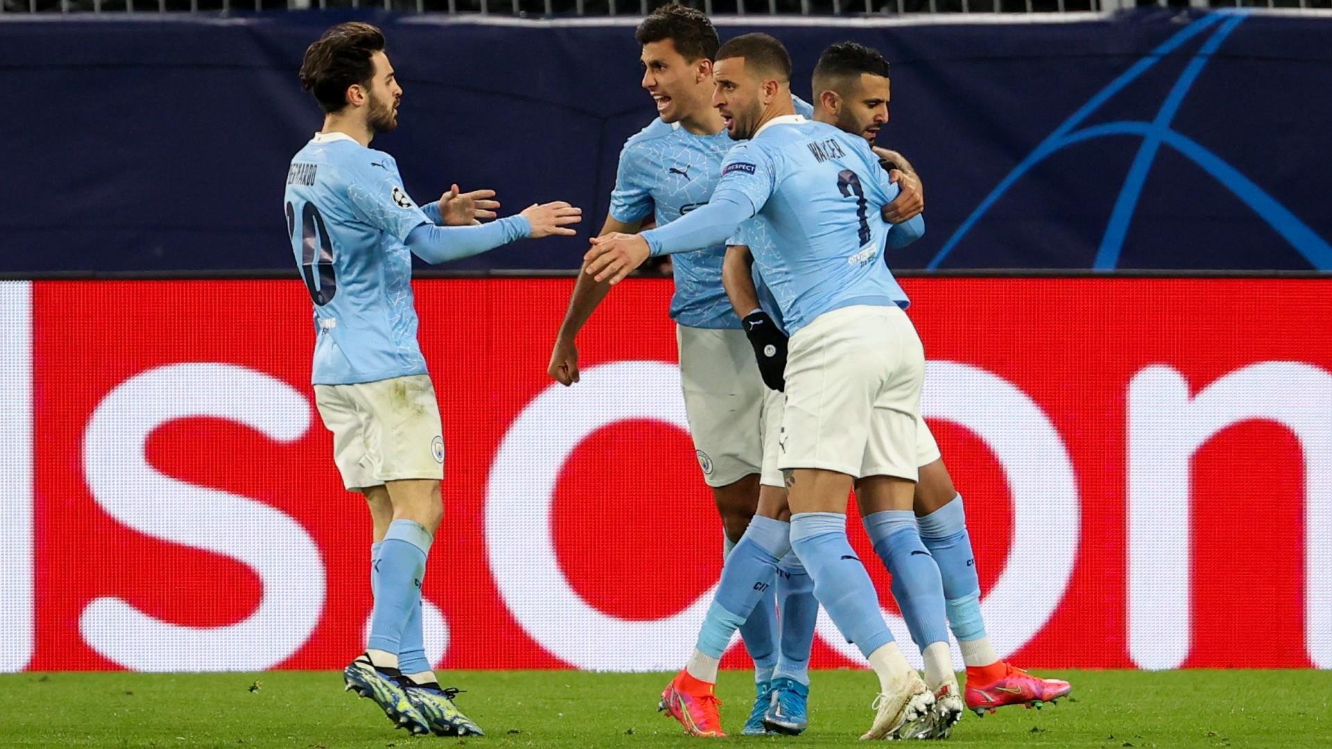 Manchester City Champions League 14042021