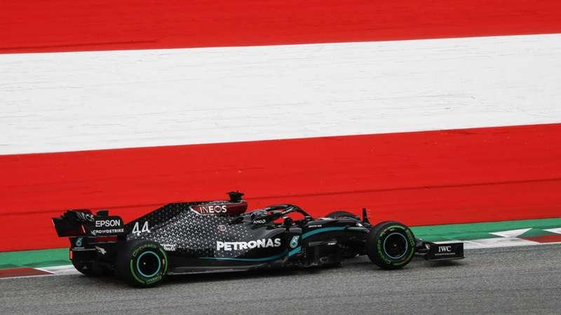 2020-07-03 Austria F1 Formula 1 Hamilton Mercedes