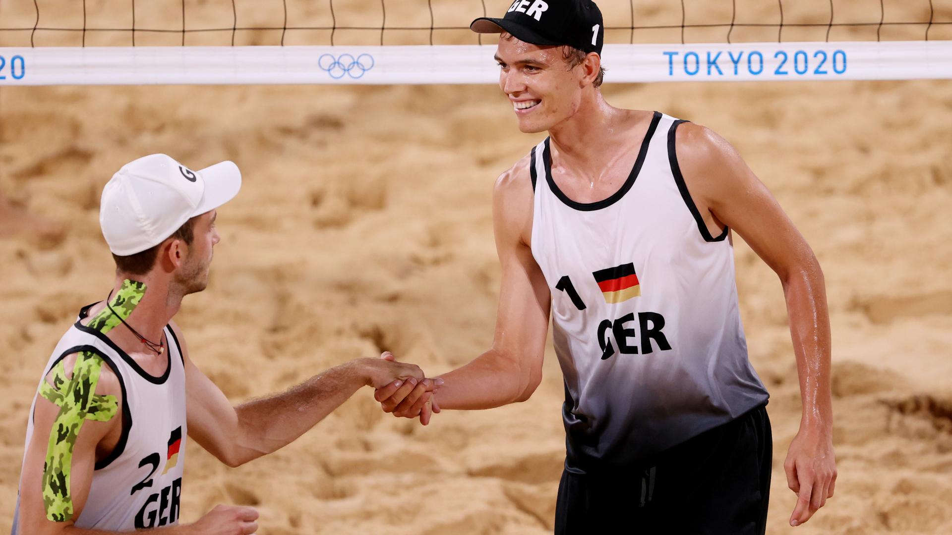 ONLY GER Julius Thole Clemens Wickler Deutschland Beachvolleyball Olympia Tokio 27072021
