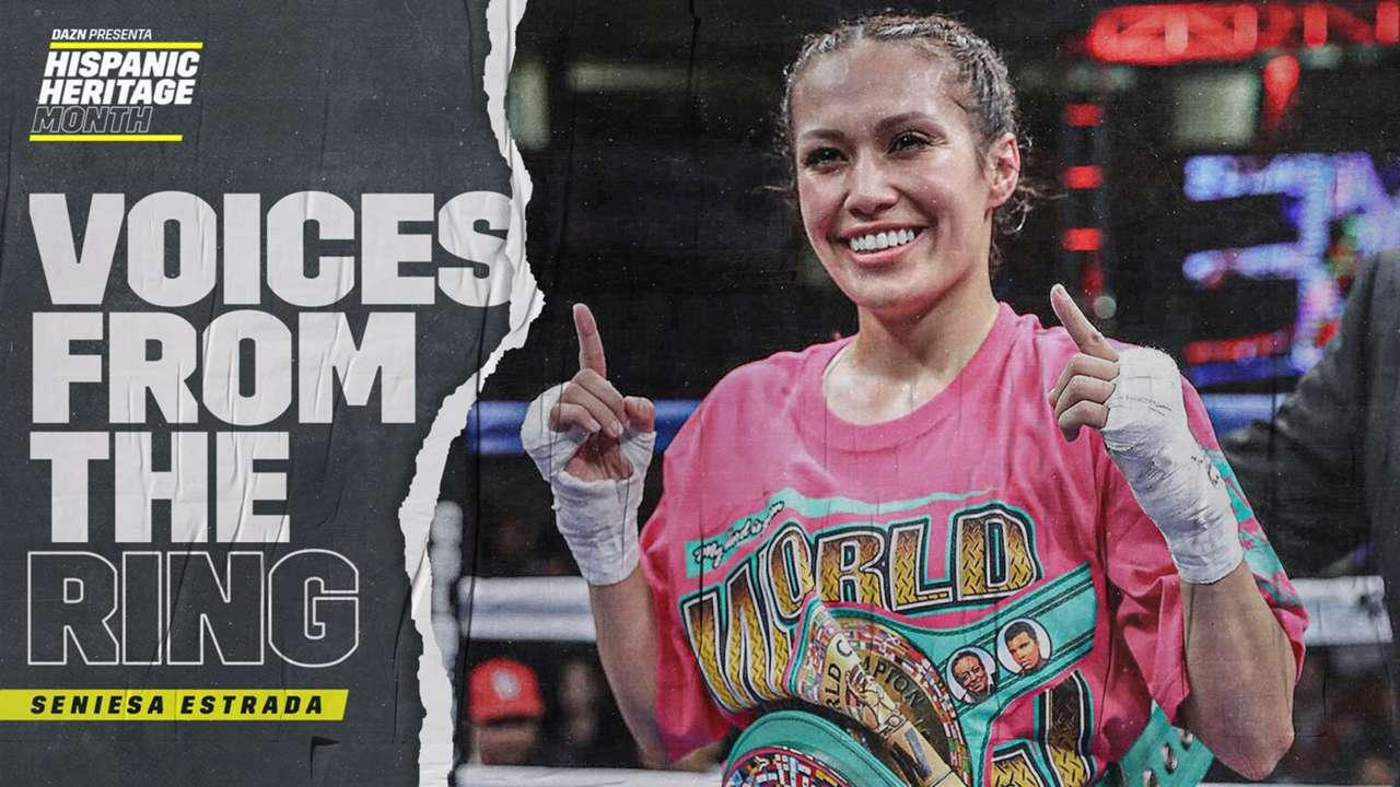 Voices from the Ring: Seniesa Estrada   DAZN News US