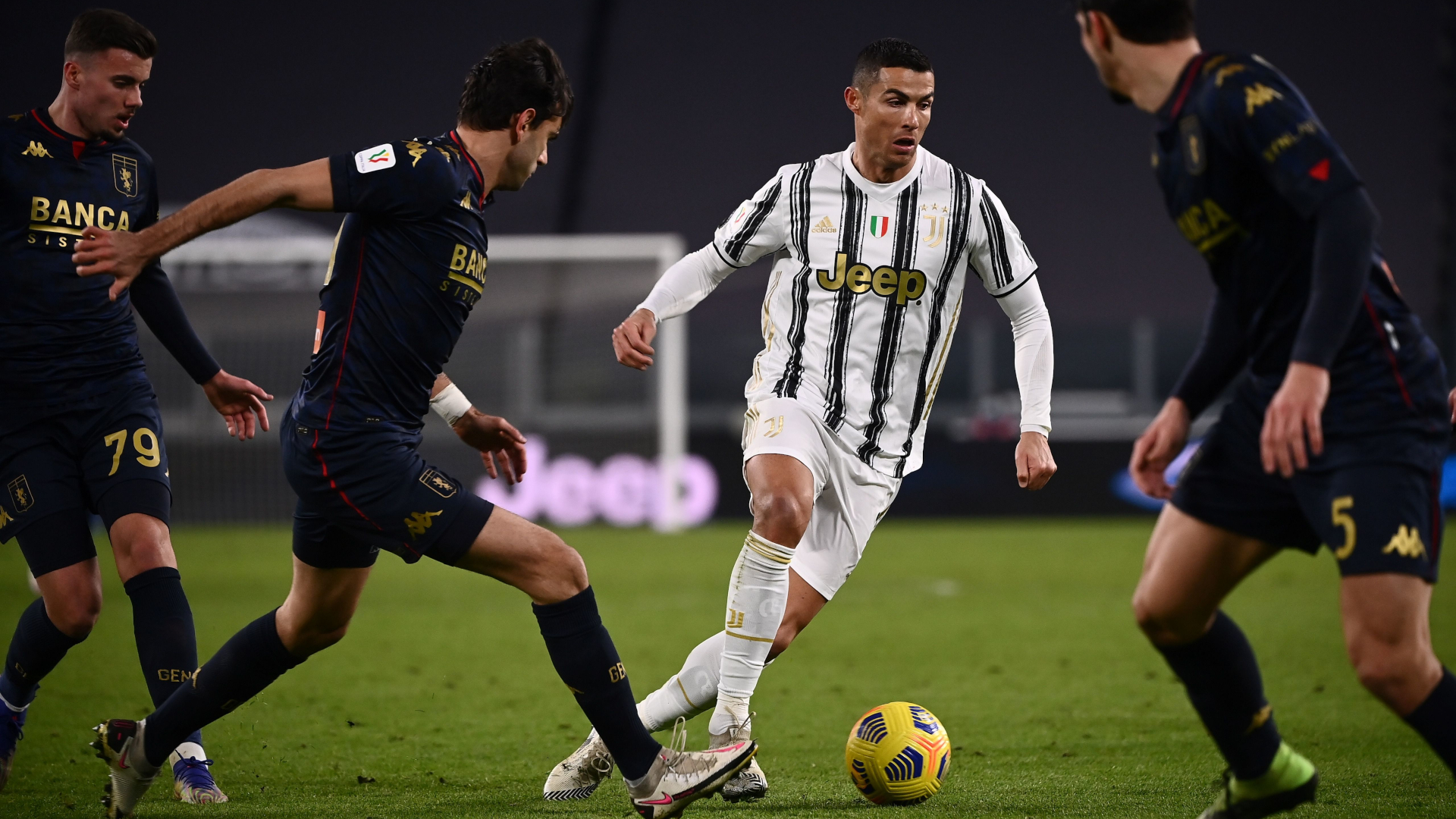 ONLY GER Cristiano Ronaldo Juventus Turin vs. CFC Genua 13012021