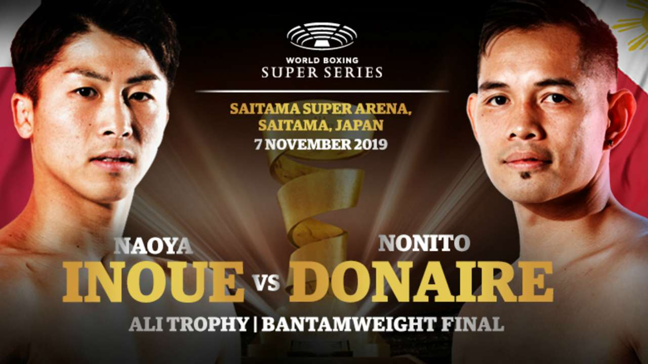 Naoya Inoue Nonito Donaire To Meet In World Boxing Super Series Final In November Dazn News Us