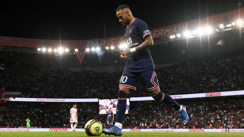 Neymar PSG Parc des Princes Paris