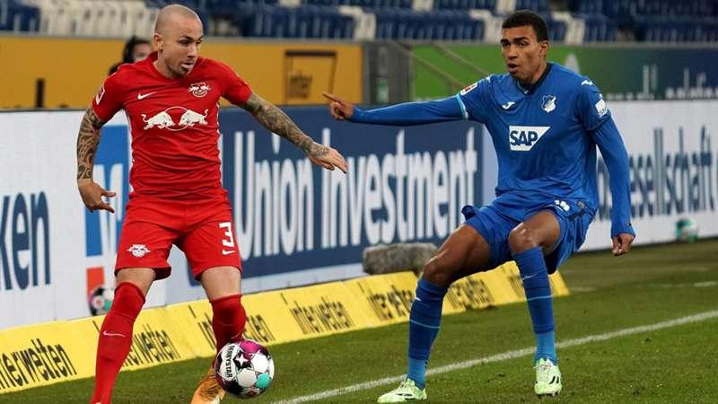 RB Leipzig Angelino TSG Hoffenheim Akpoguma Bundesliga live