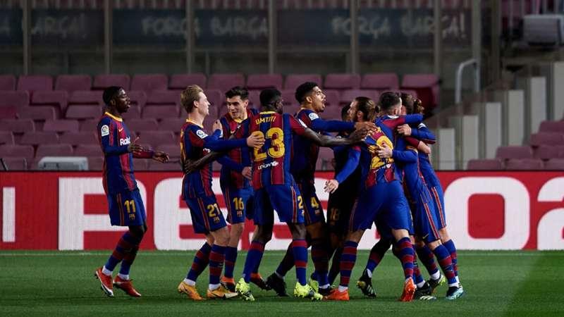 FC Barcelona LaLiga 31012021