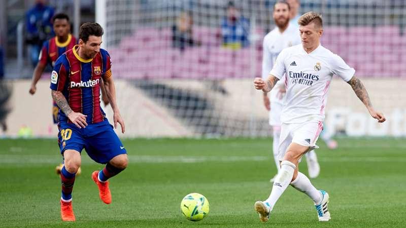 Lionel Messi FC Barcelona Toni Kroos Real Madrid 24102020