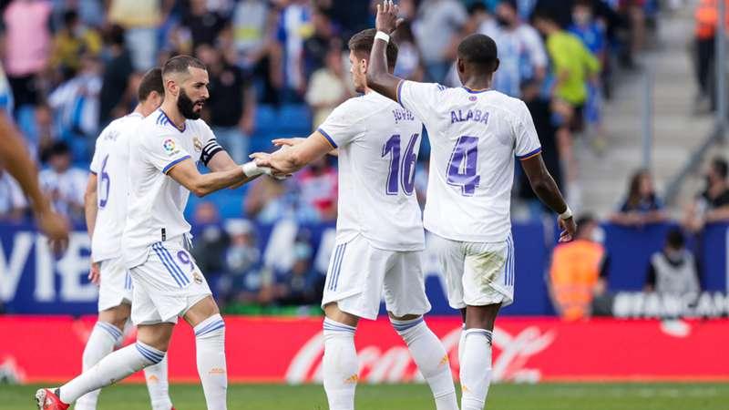 Real Madrid 13102021 Karim Benzema David Alaba