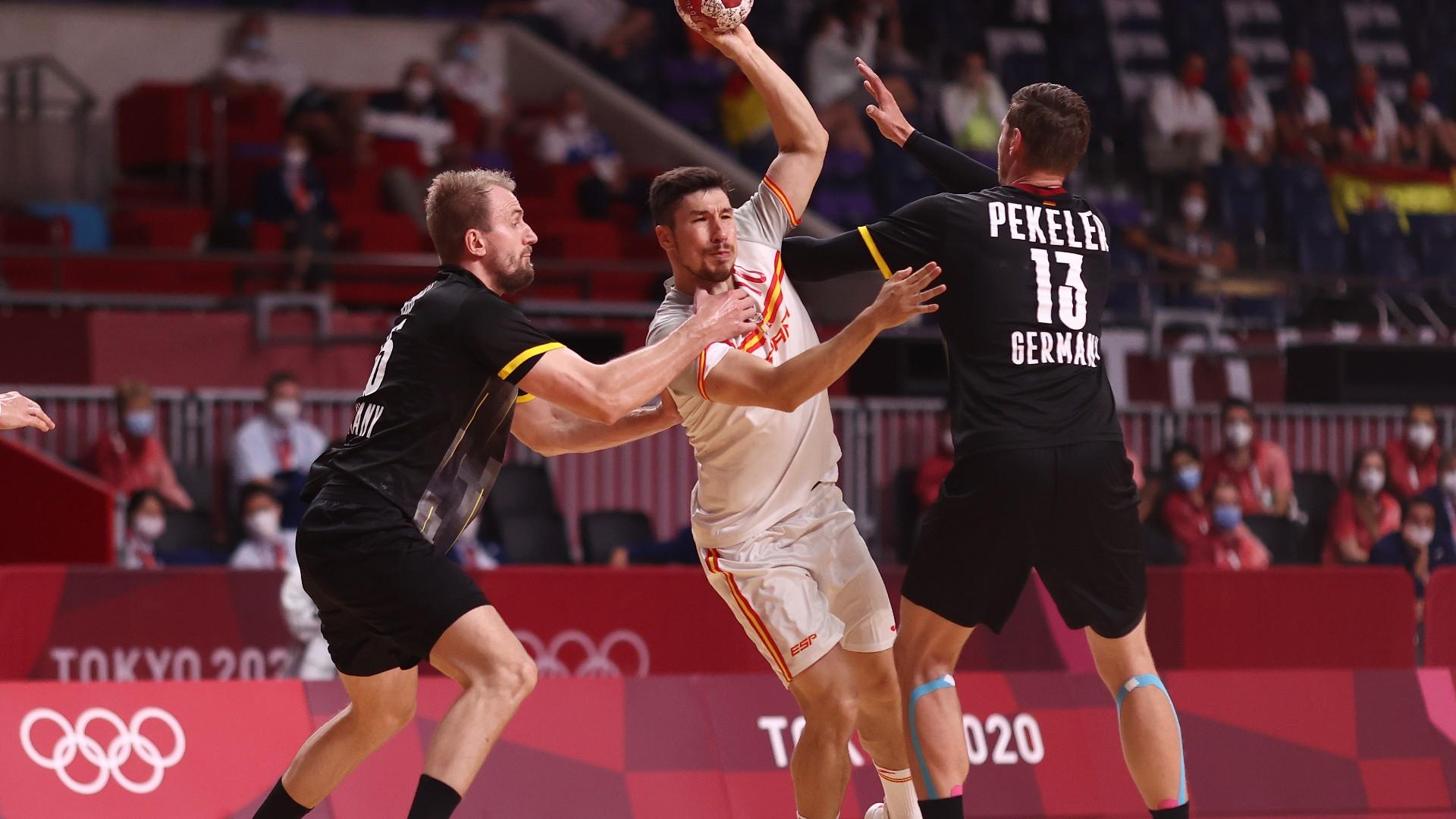 Hendrik Pekeler Julius Kühn DHB-Team Deutschland Handball Olympische Spiele 24072021