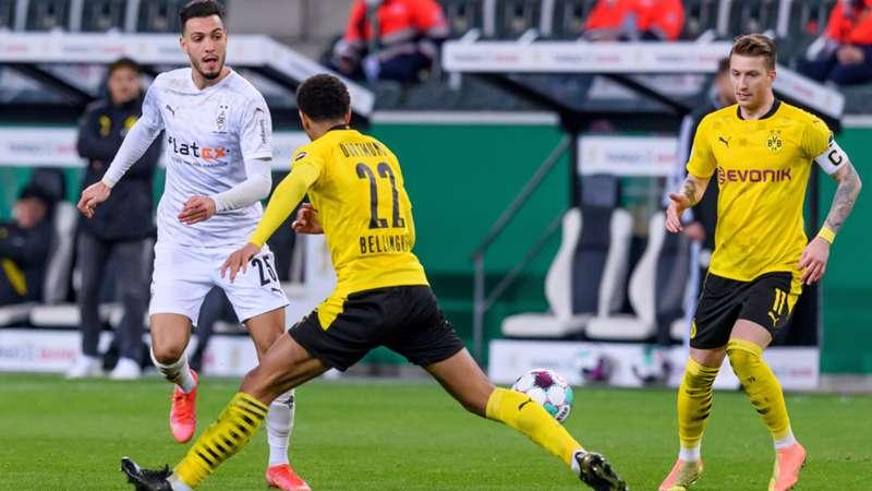 Borussia Dortmund Mönchengladbach Gladbach Bensebaini