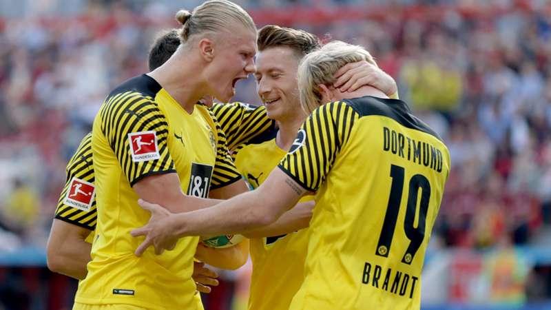 ONLY GER Bundesliga BVB Borussia Dortmund Erling Haaland Marco Reus Julian Brandt vs. Bayer Leverkusen