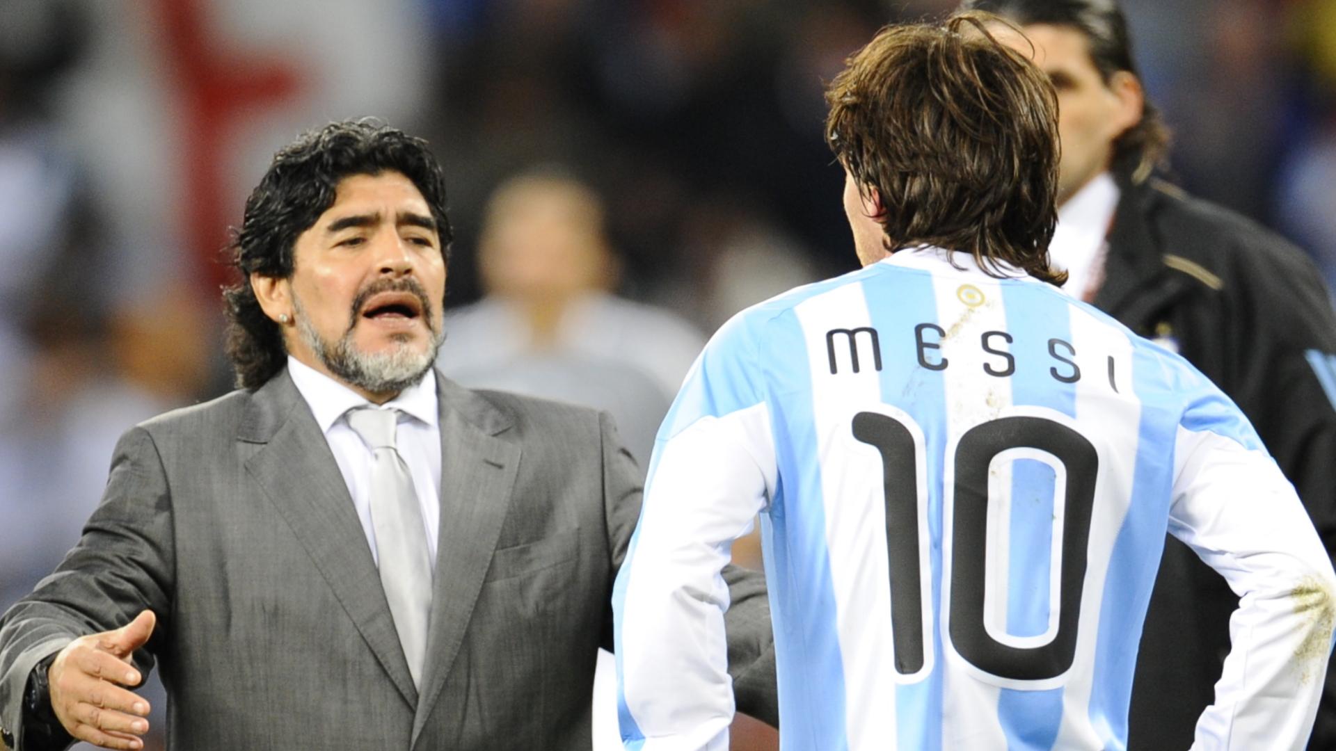 Comparing Maradona Messi Is Like Comparing Picasso To Mozart Ottavio Bianchi Goal Com