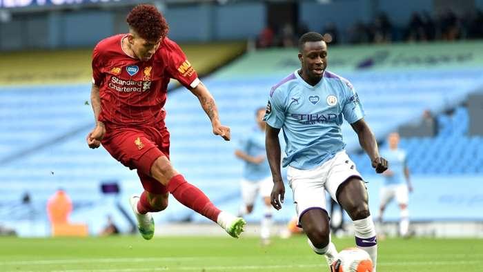 Roberto Firmino Manchester City vs Liverpool Premier League 2019-20