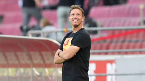 ONLY GERMANY Julian Nagelsmann RB Leipzig 01062020
