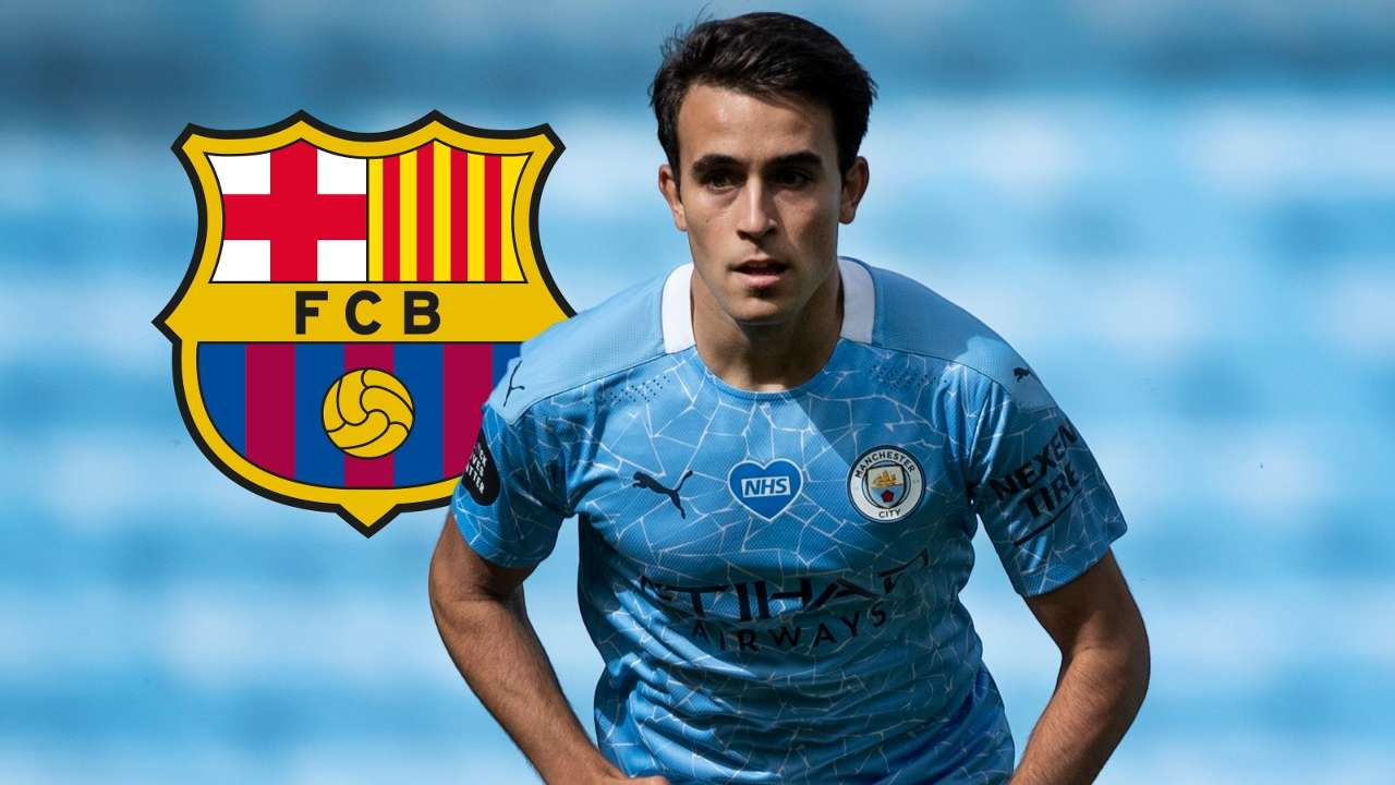 Eric Garcia Manchester City Barcelona GFX