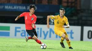 Choi Min-seo, South Korea, Australia, AFC U16 Championship