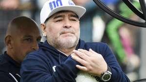 Diego Maradona Presentacion Gimnasia La Plata 08092019