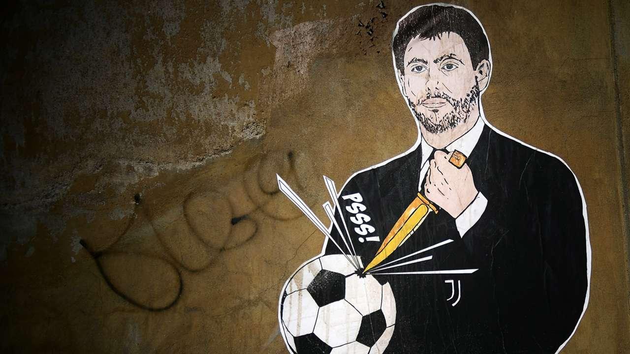 Andrea Agnelli Mural GFX