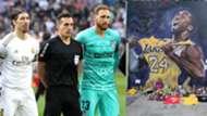 Homenaje en el Real Madrid-Atlético a Kobe Bryant