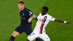 Toni Kroos Idrissa Gueye PSG Real Madrid UEFA Champions League 18092019
