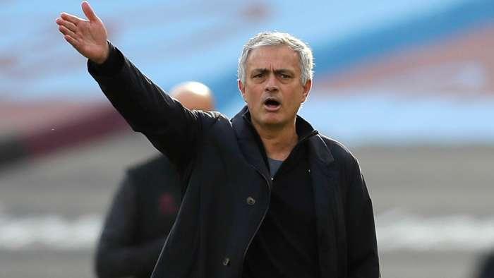Jose Mourinho Tottenham West Ham 2020-21