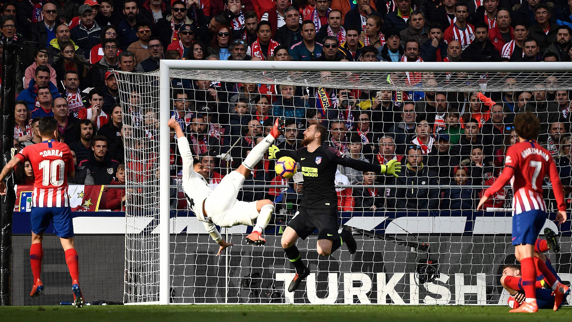 Casemiro Atletico Madrid Real Madrid