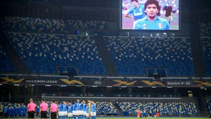 Maradona San Paolo Napoli players
