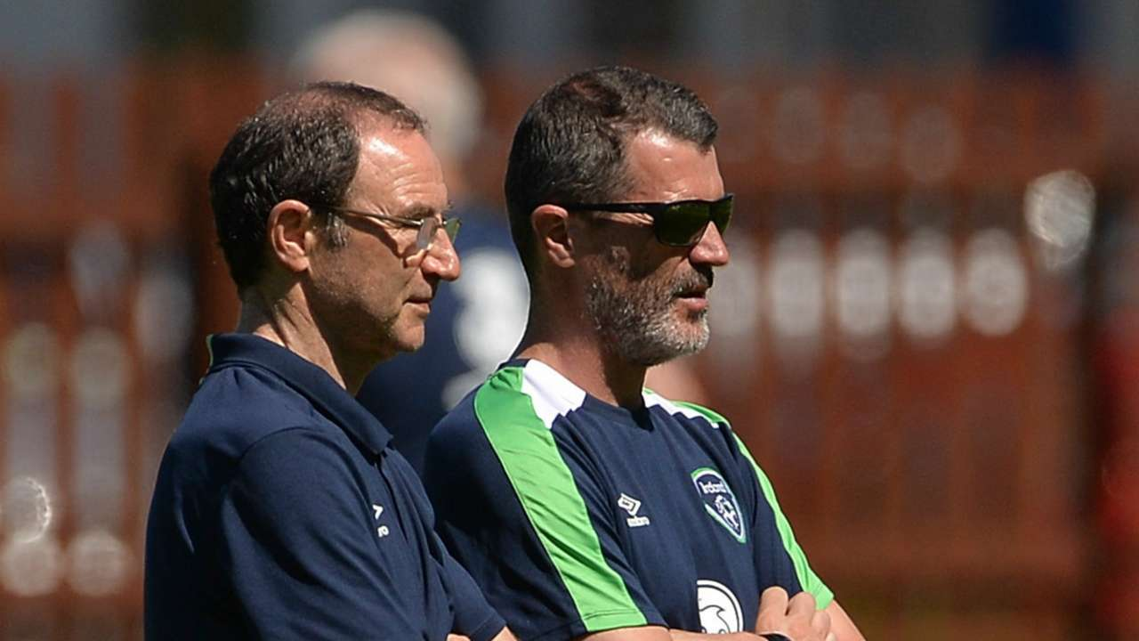 Martin O'Neill Roy Keane Republic of Ireland 01062016