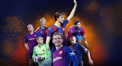 Netherlands play for Barcelona