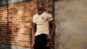 Paul Pogba Manchester United third kit 2019-20