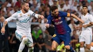 Sergio Ramos Real Madrid Lionel Messi FC Barcelona