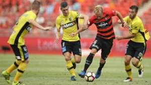 Mitch Nichols Western Sydney Wanderers v Central Coast Mariners A-League 12022017