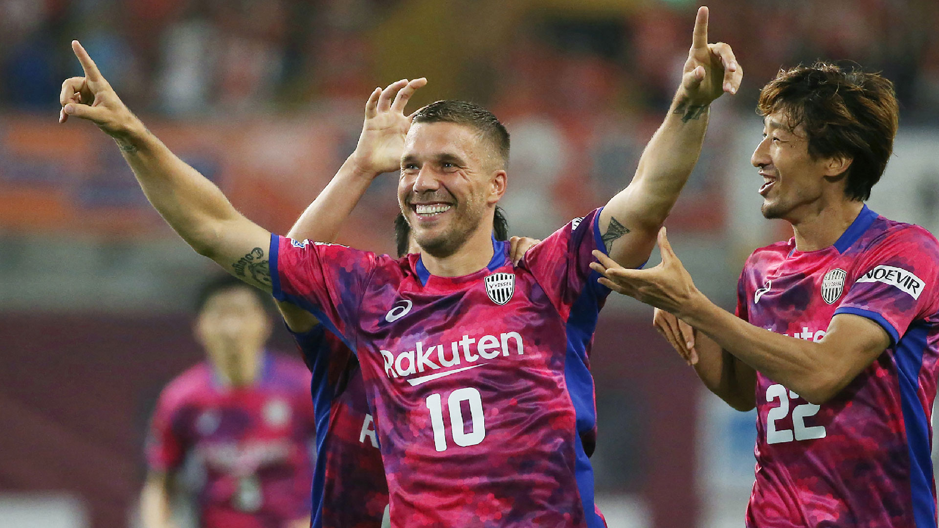 Podolski set to join Antalyaspor from Vissel Kobe