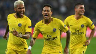 Neymar Anderlecht PSG UEFA Champions League 18102017