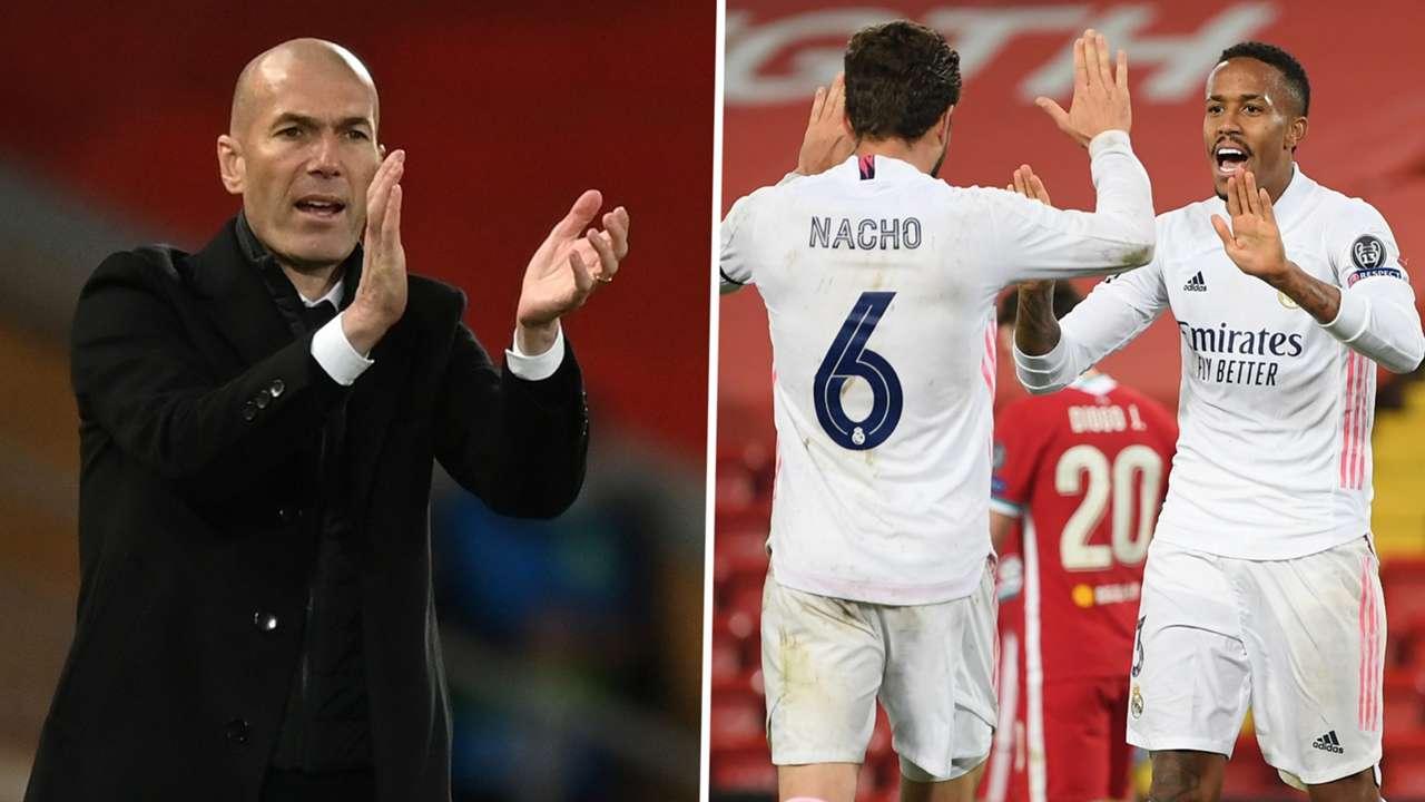 Zidane Nacho Militao Real Madrid GFX