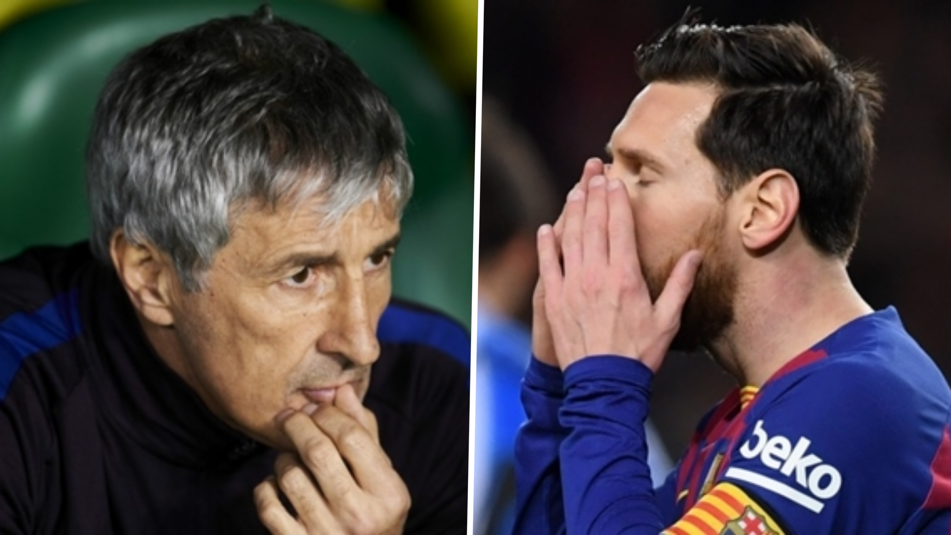 'I don't recall any problems that are worth mentioning' - Setien plays down Barcelona & Messi rifts amid sack reports