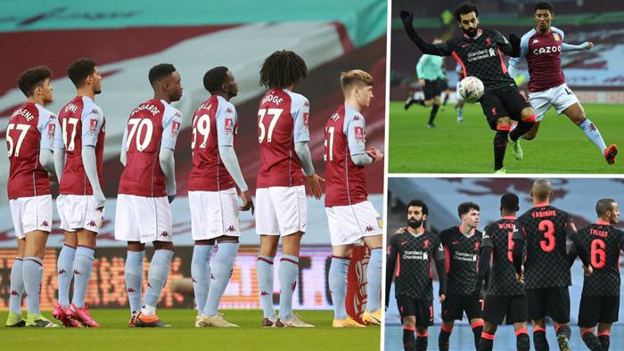 Liverpool Aston Villa FA Cup GFX