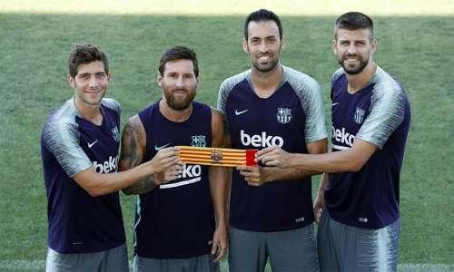 CHÍNH THỨC: Messi sẽ tiếp tục đeo băng đội trưởng Barca