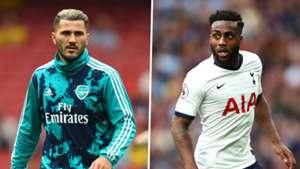 Sead Kolasinac Danny Rose Arsenal Tottenham