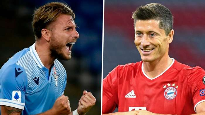 Ciro Immobile Lazio Robert Lewandowski Bayern Munich 2019-20